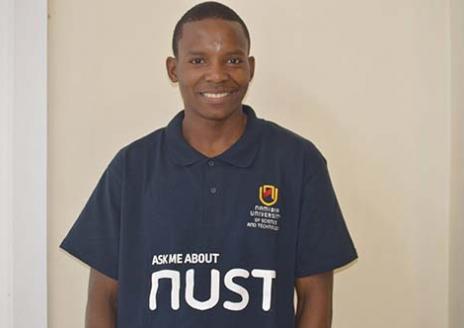 Henock Tuhafeni Hakaala - B. Eng Engineering 2nd Year student